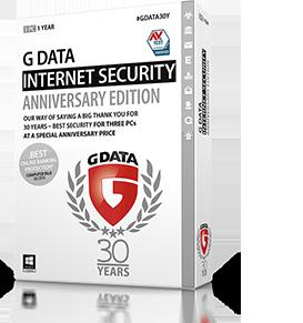 Boxshot G DATA INTERNET SECURITY