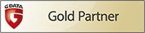 G DATA Gold Partner Logo