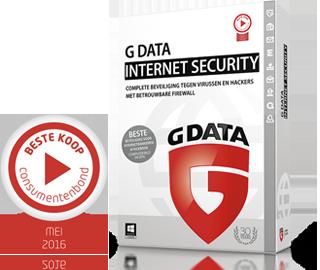 GDATA Internet Security - veilig online bankieren en shoppen dankzij de firewall en vele extra's