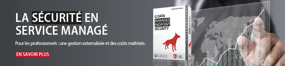 La sécurité informatique des entreprises en service managé.
