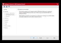 Screenshot G DATA TOTAL SECURITY - USB Keyboard Guard